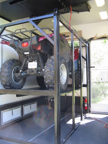 Garage Storage Issue Atv Stacker Yamaha Grizzly Atv