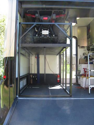 Garage Storage Issue Atv Stacker Yamaha Grizzly Atv