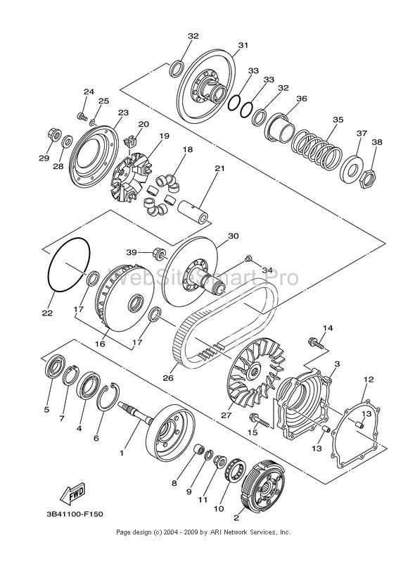 Yamaha Rhino 700 Engine Diagram