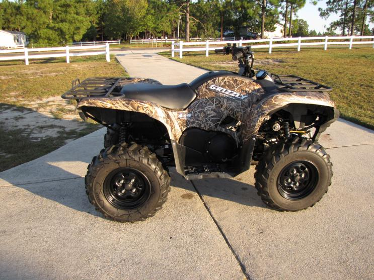 2008 Yamaha Grizzly 700 Ducks Unlimited