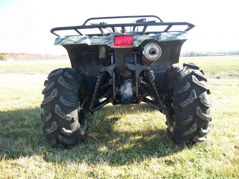 3 Lift Kit >> Kodiak 450 Lifted with new Tires / Wheels!!!! - Yamaha Grizzly ATV Forum