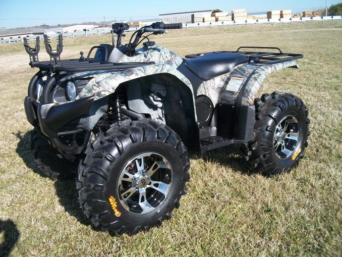 Yamaha Grizzly  Steel Rims