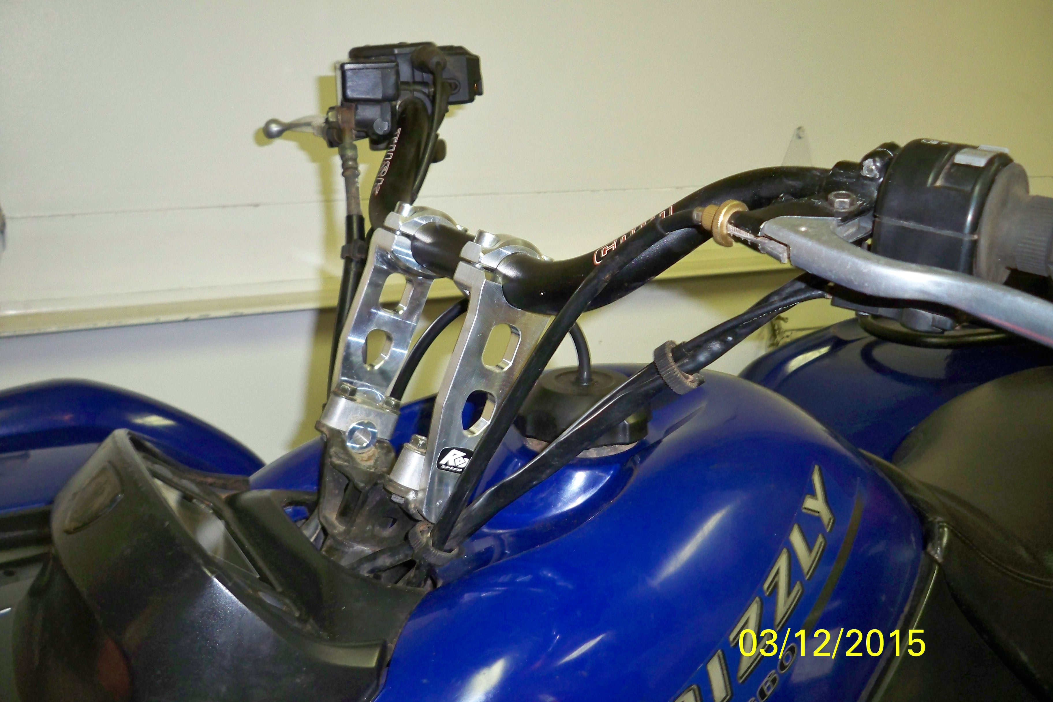 rox risers grizzly package - Page 8 - Yamaha Grizzly ATV Forum