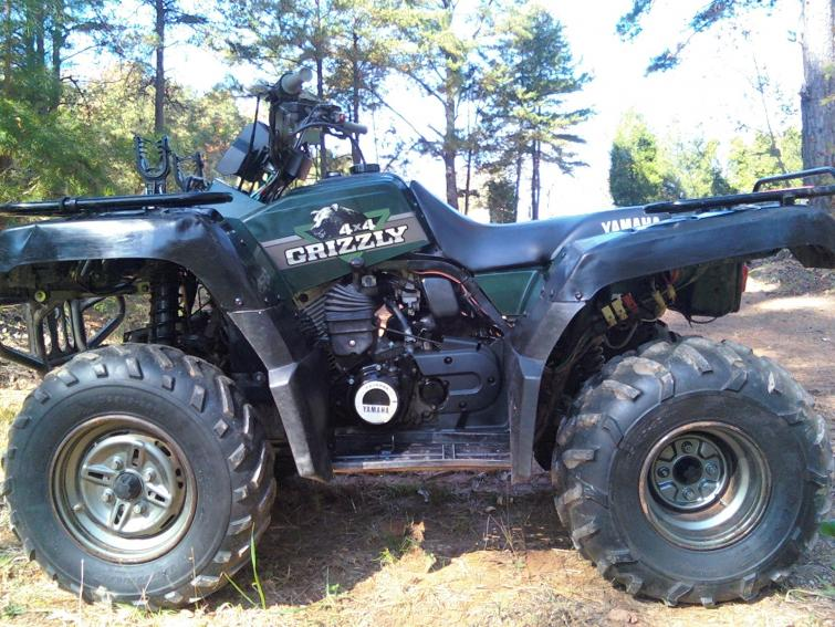 Yamaha Grizzly Tire Pressure