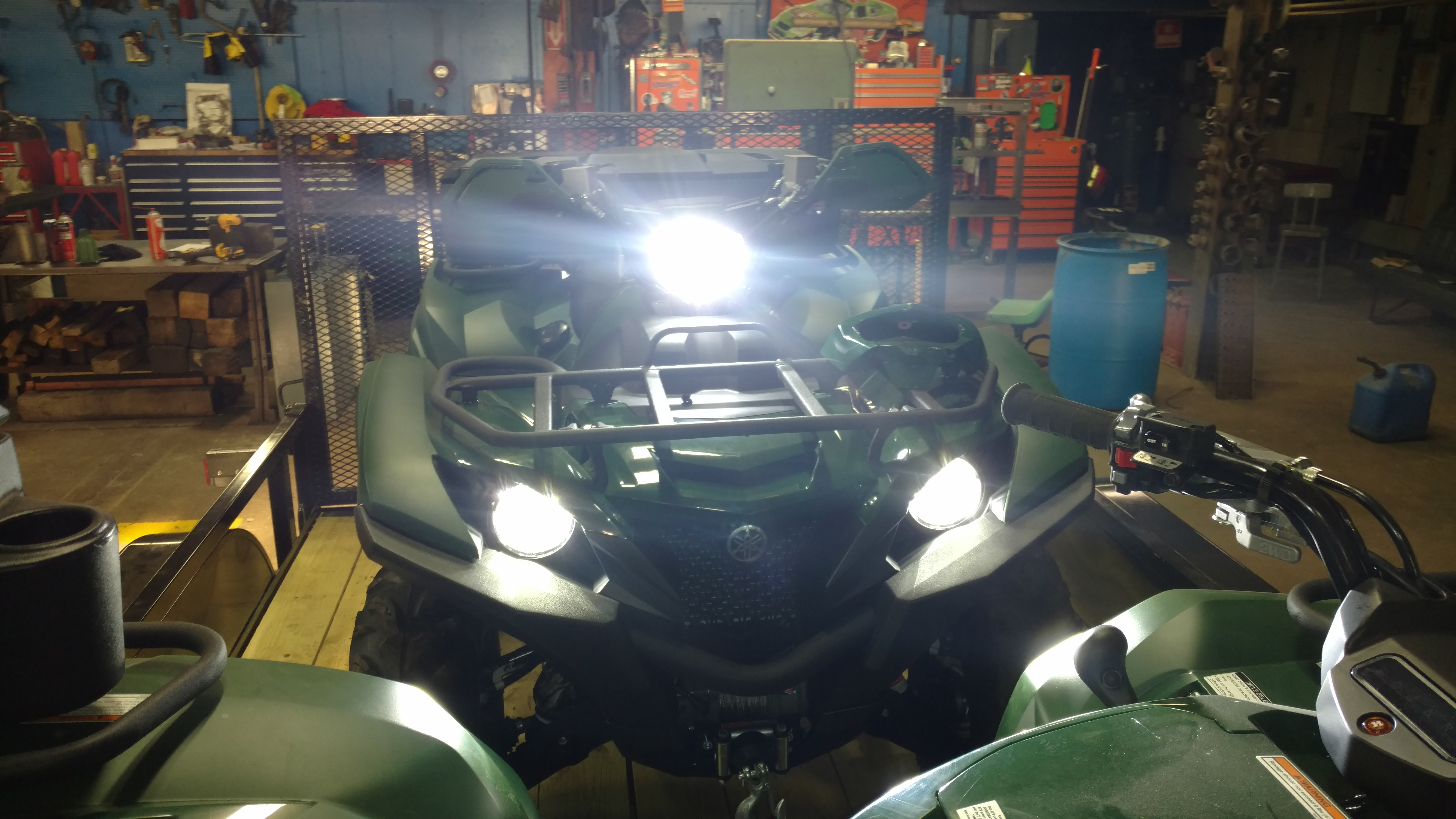 Can The Handlebar Headlight Bulb Be Changed To An Led On A