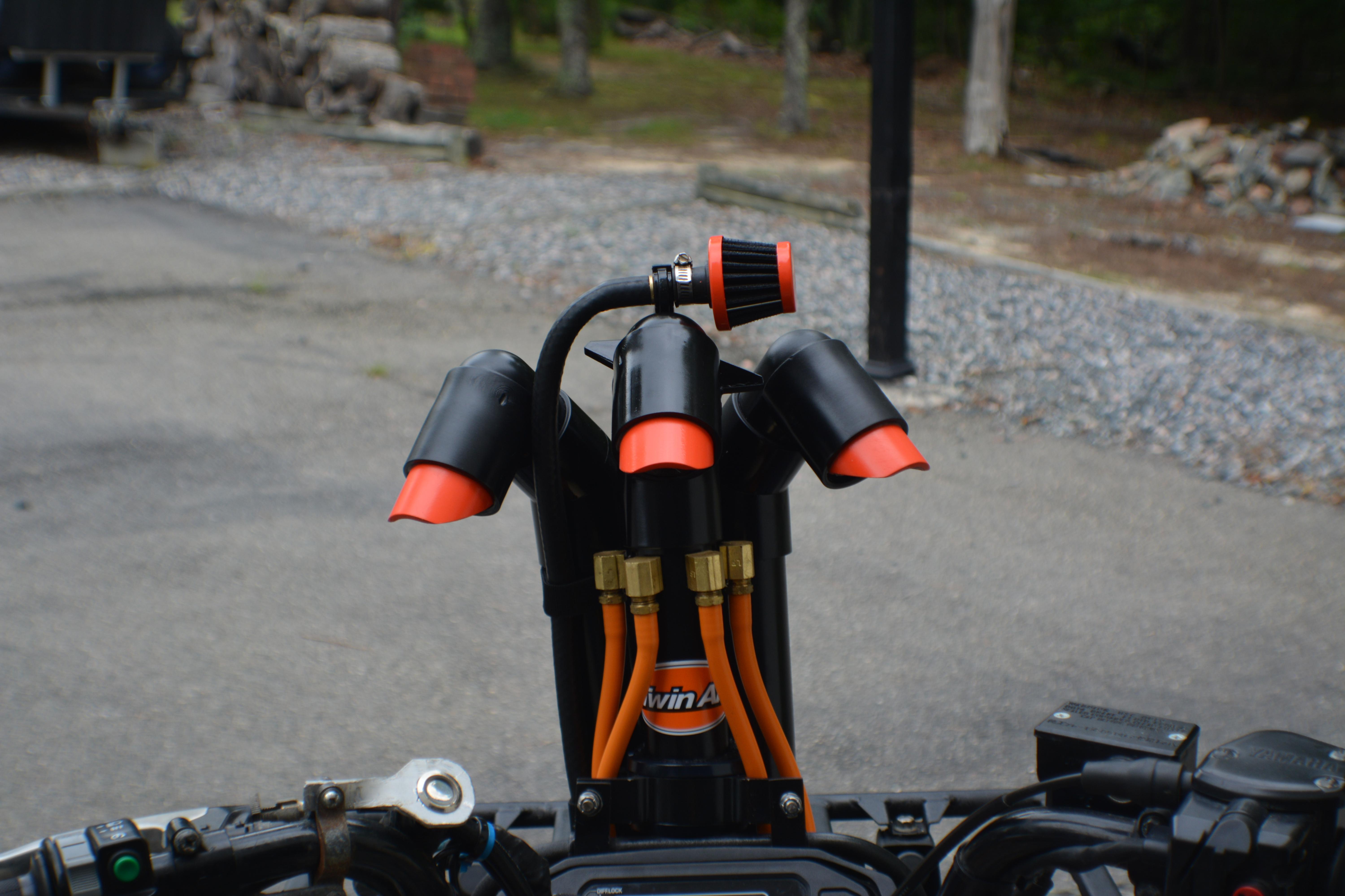 The impossible Kodiak 450 snorkel ! - Yamaha Grizzly ATV Forum