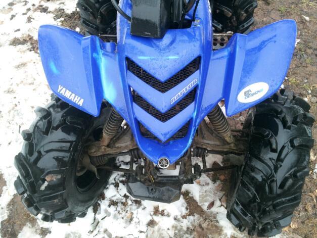 660 raptor body on big bear 400 - Yamaha Grizzly ATV Forum