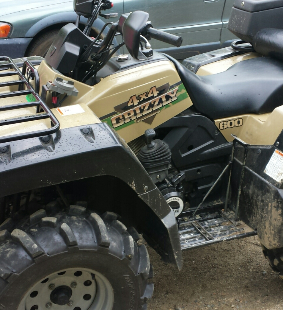 Having trouble with my 99 grizzly 600 yamaha grizzly atv for Yamaha grizzly 600