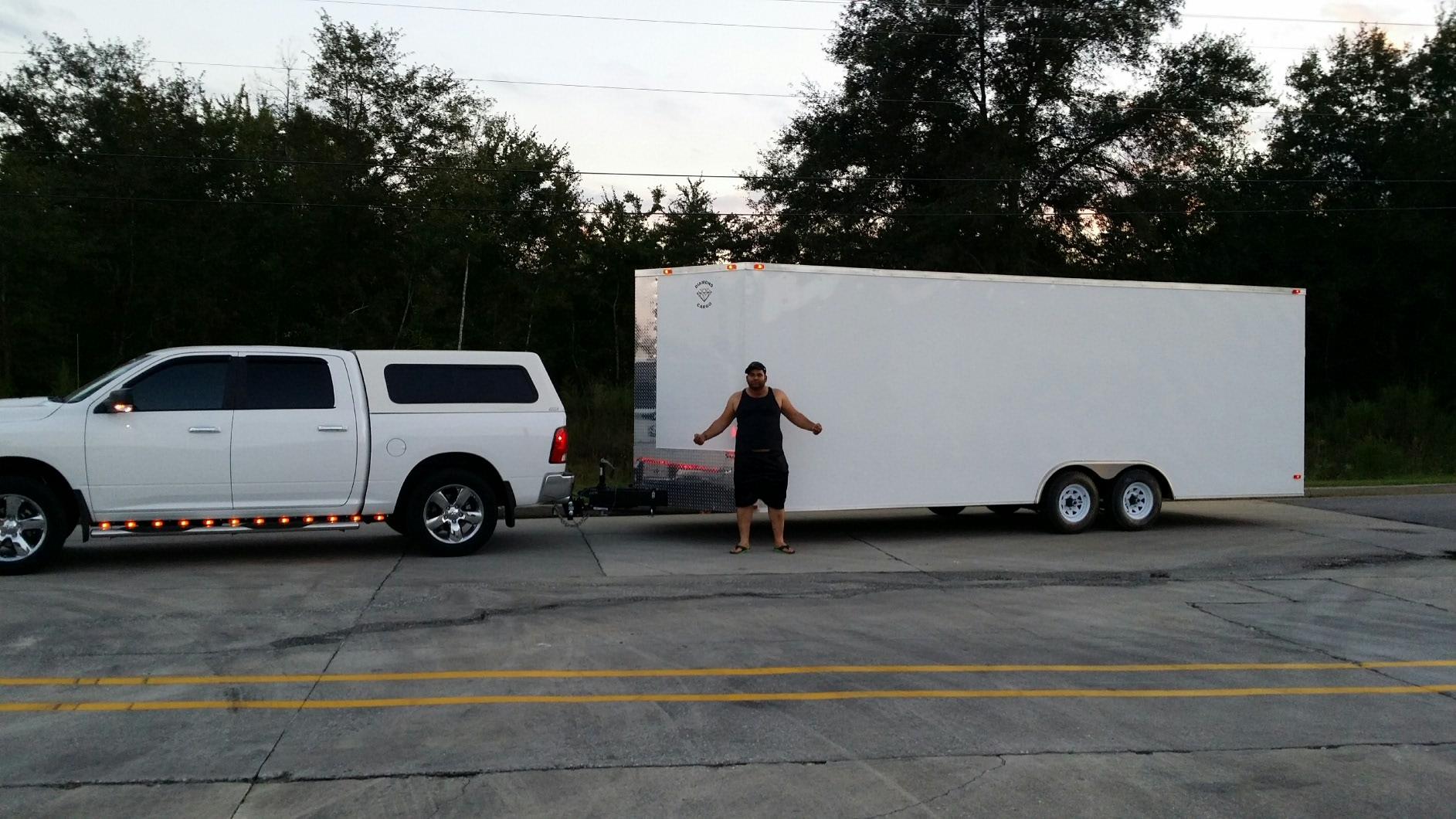 26 foot Cargo Trailer Conversion - Yamaha Grizzly ATV Forum