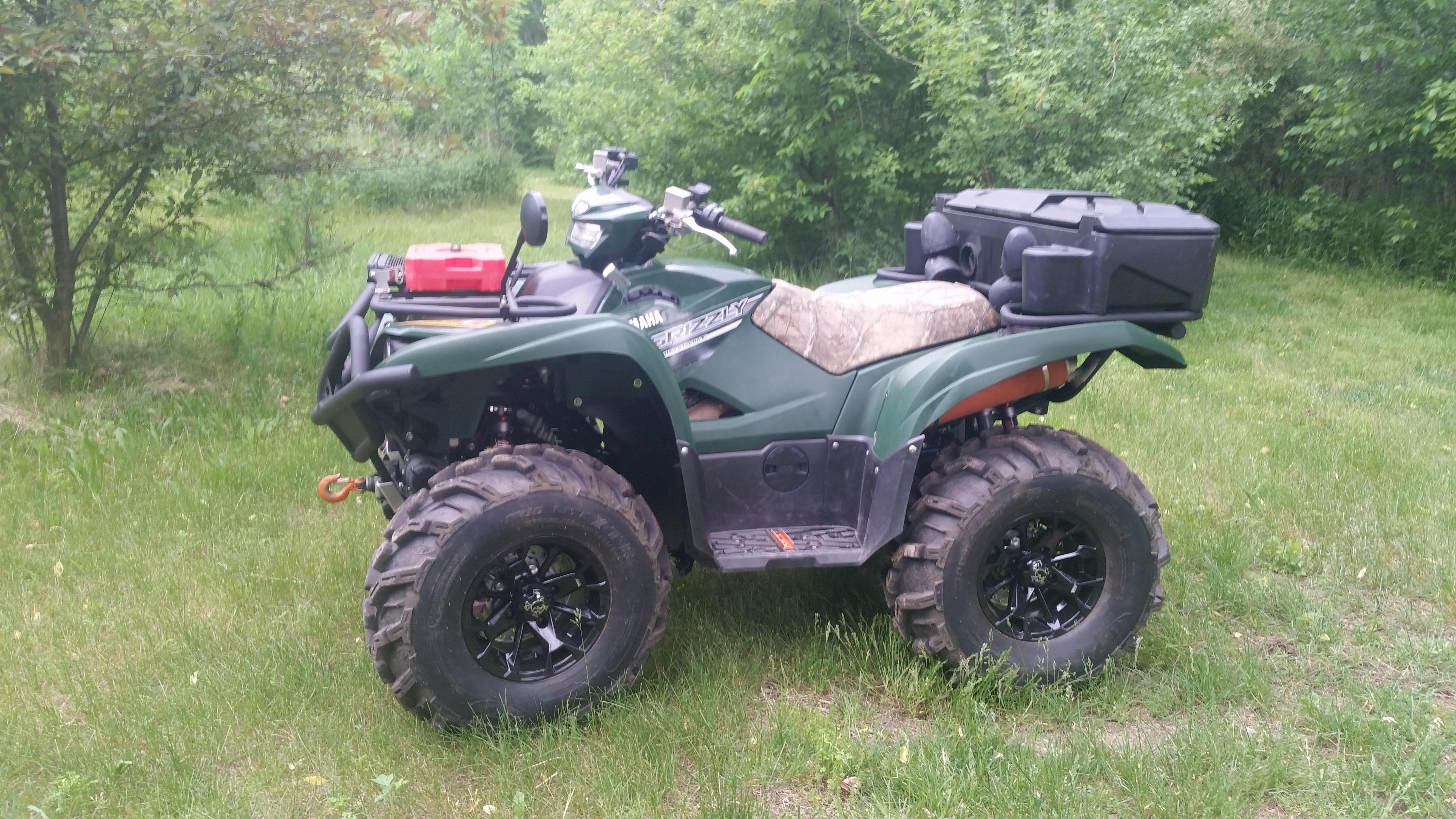 2016 Grizzly Pics And Mods Let S See Em Yamaha