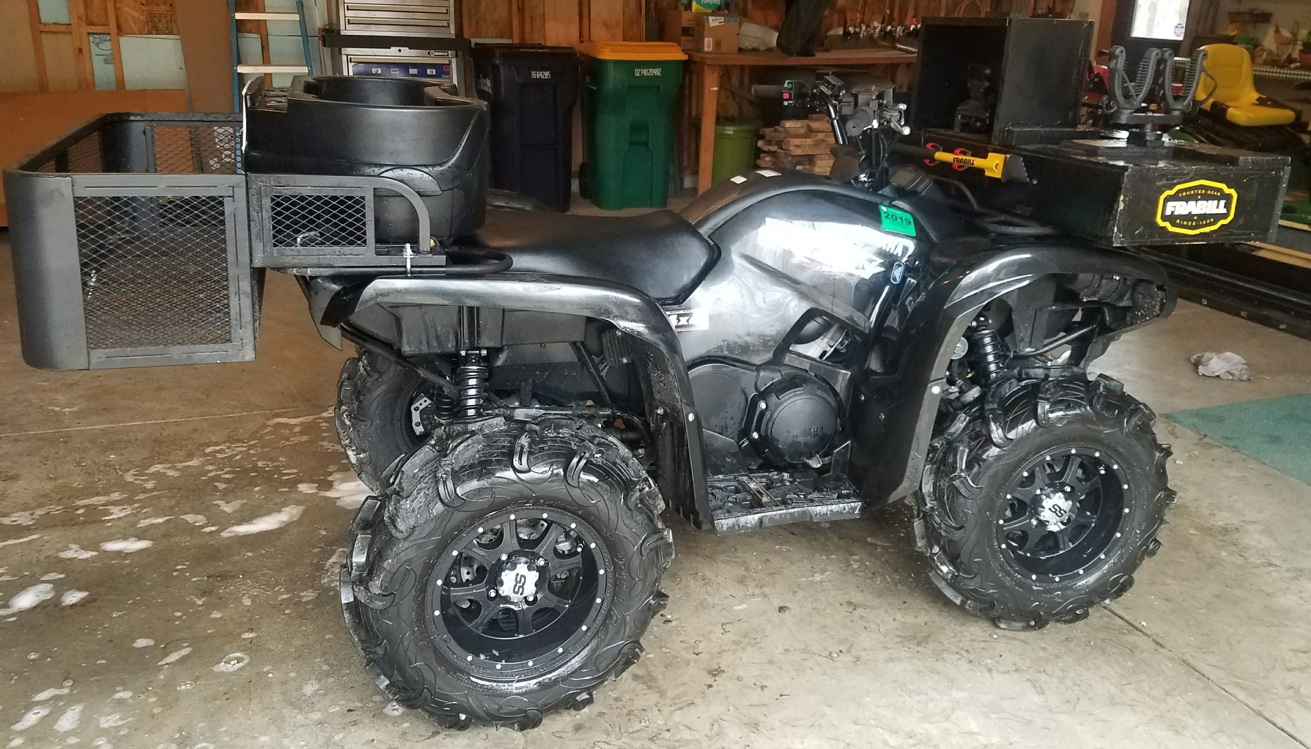 How To Get Ice Off Of Windshield >> For Sale 2009 Yamaha Grizzly 550 EPS - Yamaha Grizzly ATV ...