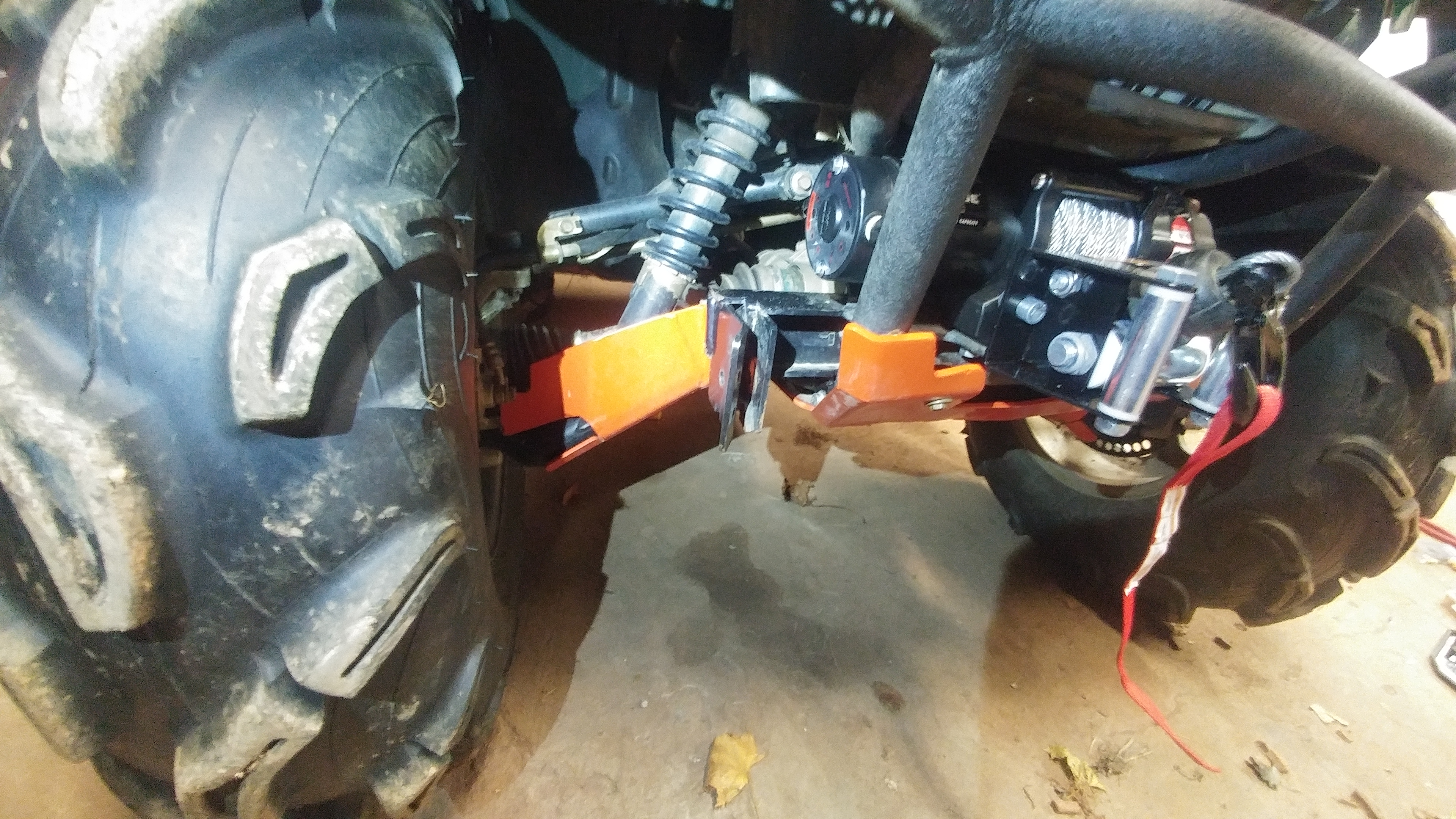 Grizzly Warn Winch Install