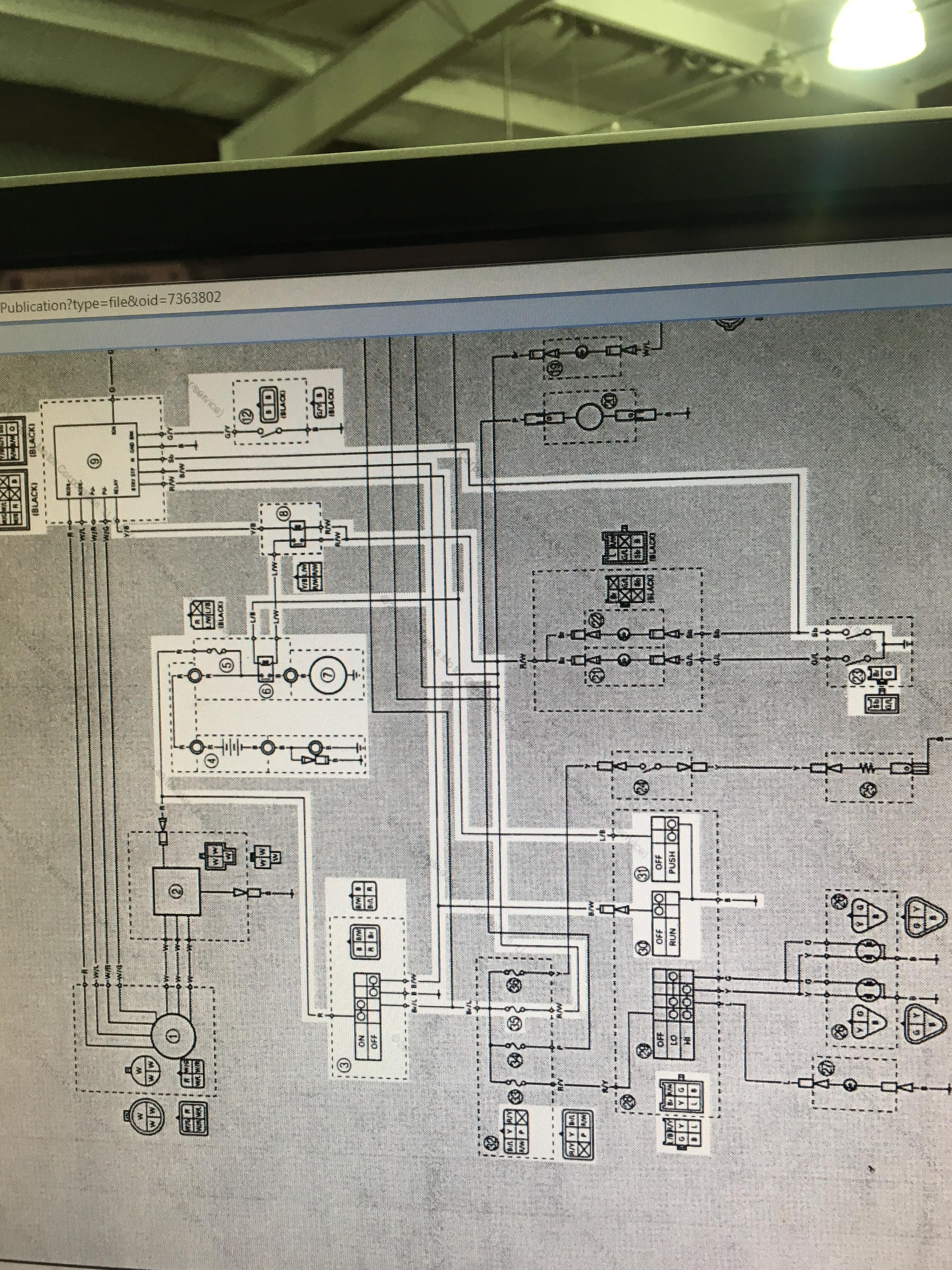 Wiring Diagram Big Bear on tires for yamaha, irs 4x4, 4x4 pull starter, irs 30 zillas,