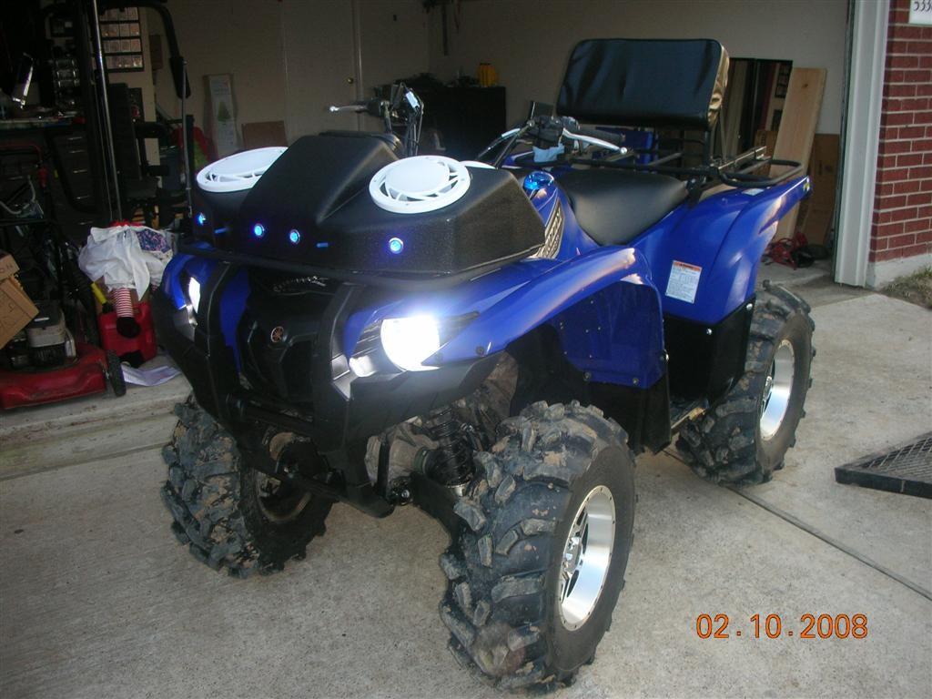 2 inch. lift kit - Yamaha Grizzly ATV Forum