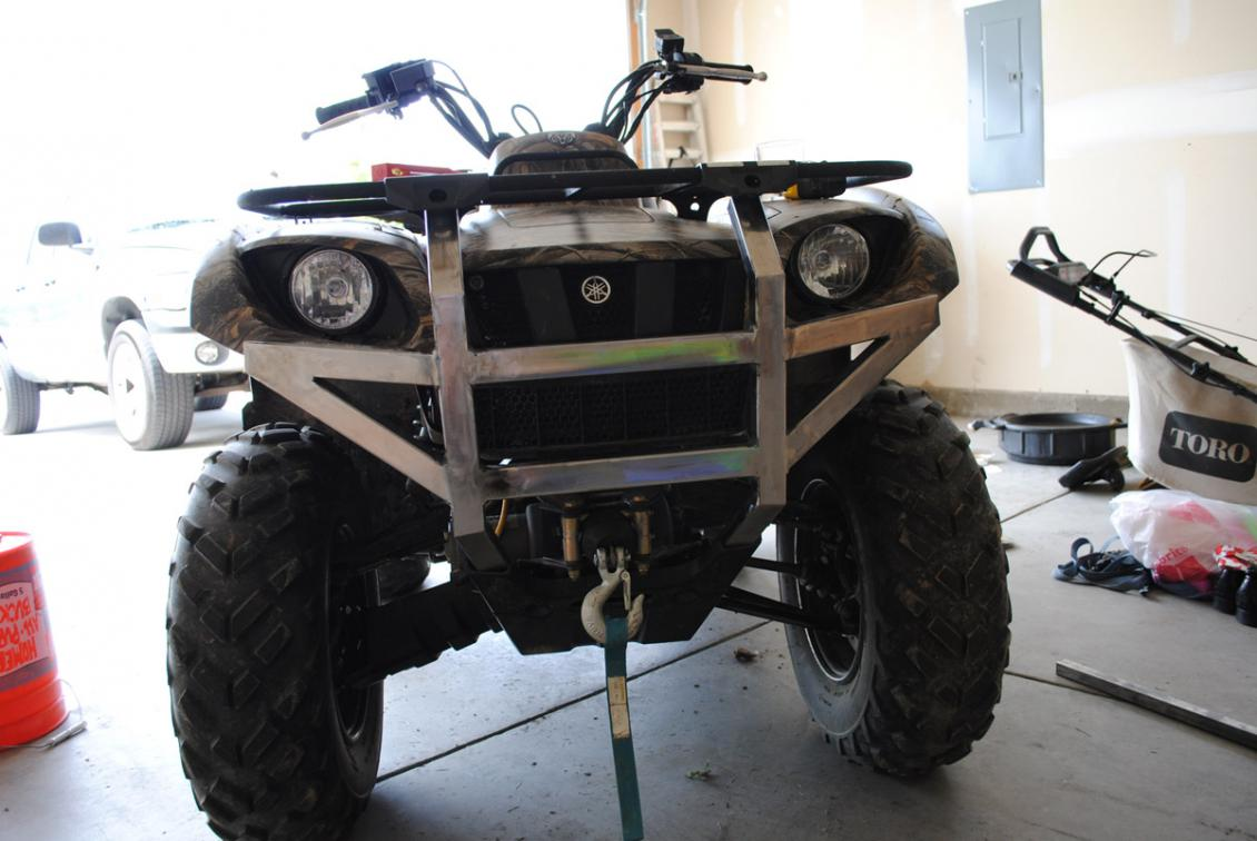 Custom 660 bumper build yamaha grizzly atv forum click image for larger version name 660bumperg views 20068 size 888 sciox Image collections