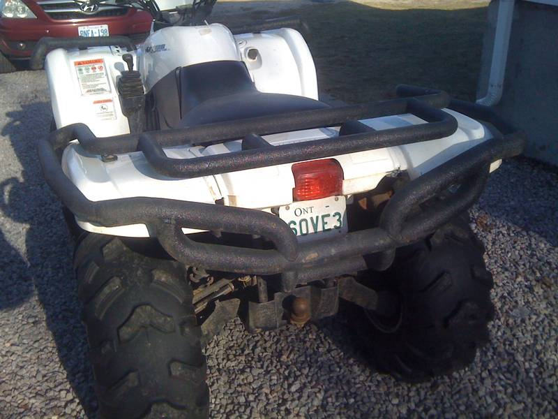 Custom 660 bumpers yamaha grizzly atv forum custom 660 bumpers 7310jji20g sciox Image collections
