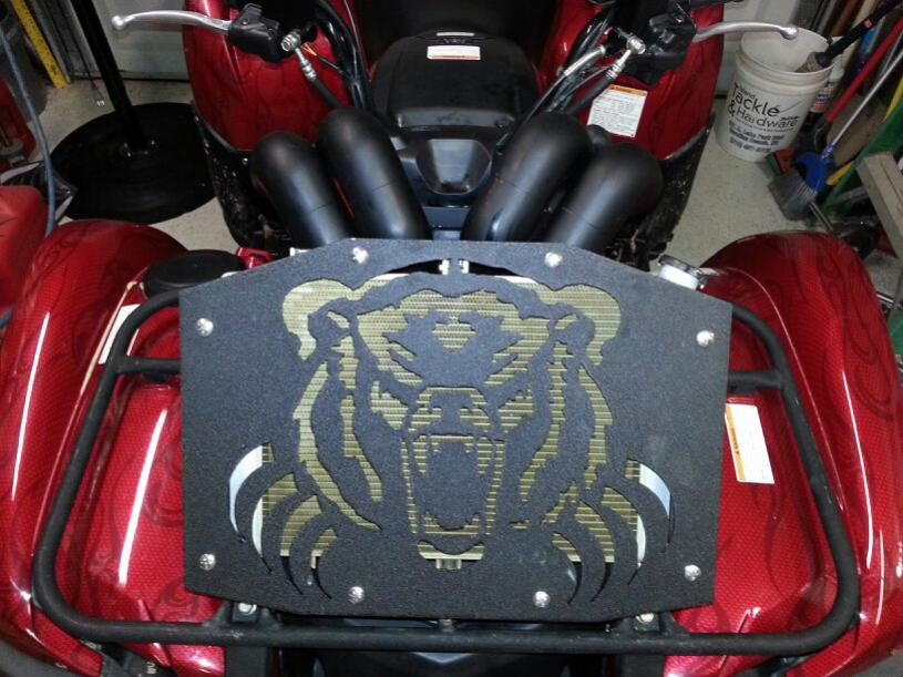 Yamaha Grizzly 700 >> UPDATED SNORKEL PICS 2009 GRIZZLY 700 - Yamaha Grizzly ATV ...