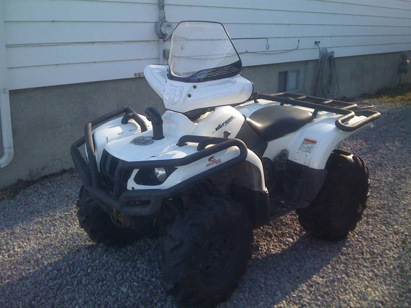 Custom 660 bumpers yamaha grizzly atv forum custom 660 bumpers 9104de120g sciox Image collections