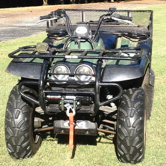 97 kodiak engo winch install yamaha grizzly atv forum. Black Bedroom Furniture Sets. Home Design Ideas
