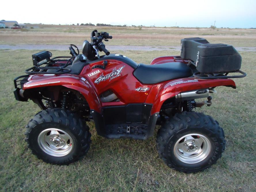 Yamaha Grizzly 660 >> Yamaha grizzly 550 eps Special Edition - Yamaha Grizzly ...