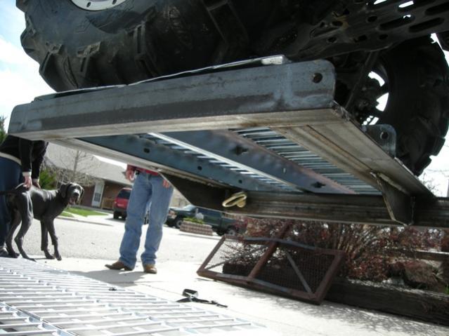 atv truck rack plans 2