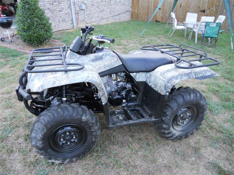 My New Big Bear 400 Yamaha Grizzly ATV Forum