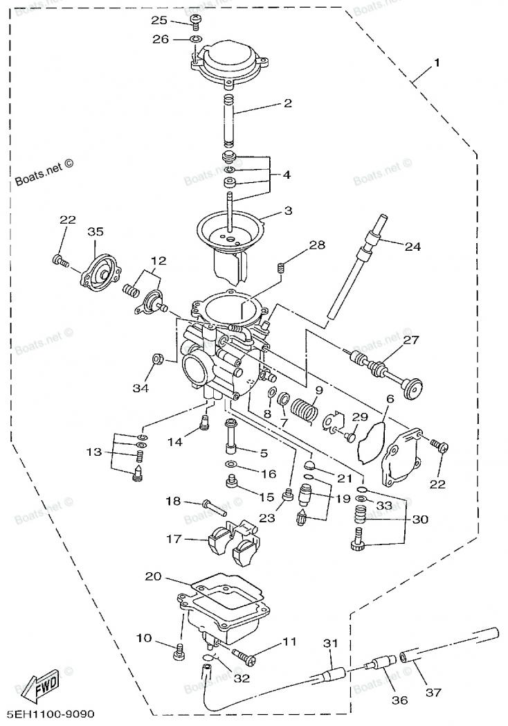 Yamaha Carburetor Diagram