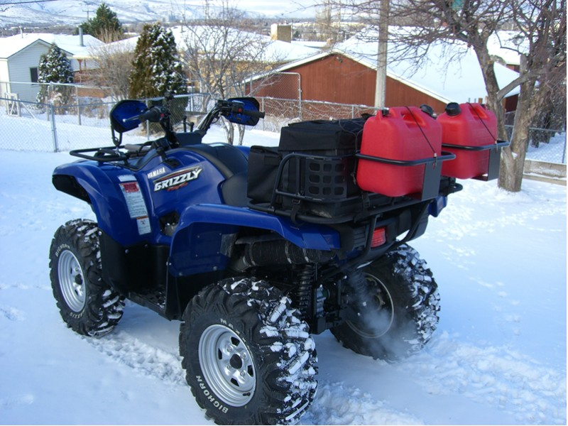 Fuel Carrier Yamaha Grizzly Atv Forum