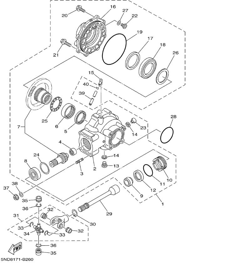 wiring diagram for 2000 yamaha big bear