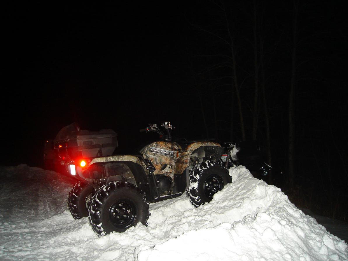 winter 2012 grizz plow pics - Page 4 - Yamaha Grizzly ATV Forum