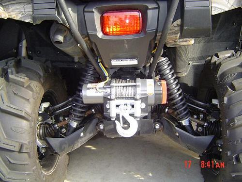rear winch for the grizz yamaha grizzly atv forum rh grizzlycentral com yamaha grizzly winch wiring kit yamaha grizzly winch won't work
