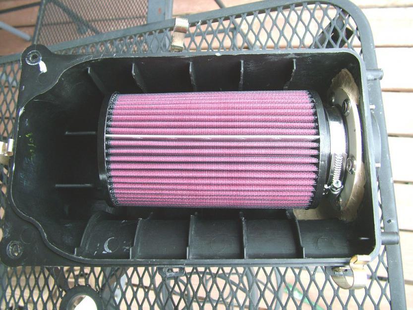 Yamaha Grizzly 660 >> Serious 660 air filter mod - Part 2 - Yamaha Grizzly ATV Forum