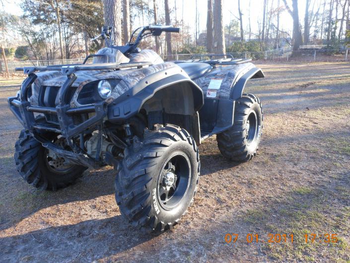 Atv Wheel Weights : Sti mud trax yamaha grizzly atv forum