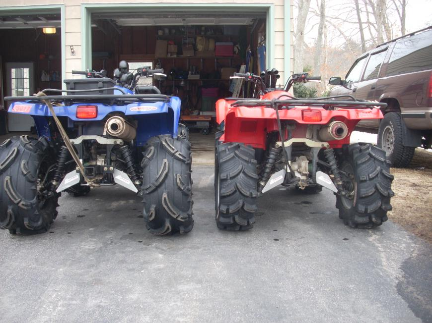 Grizzly 450 Lift - Yamaha Grizzly ATV Forum