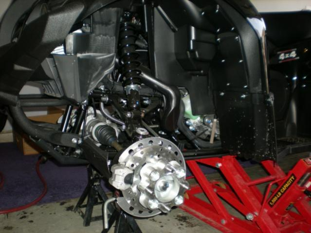 Wheel spacers - Yamaha Grizzly ATV Forum