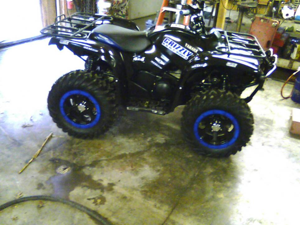 My 09 Grizzly 550 - Yamaha Grizzly ATV Forum