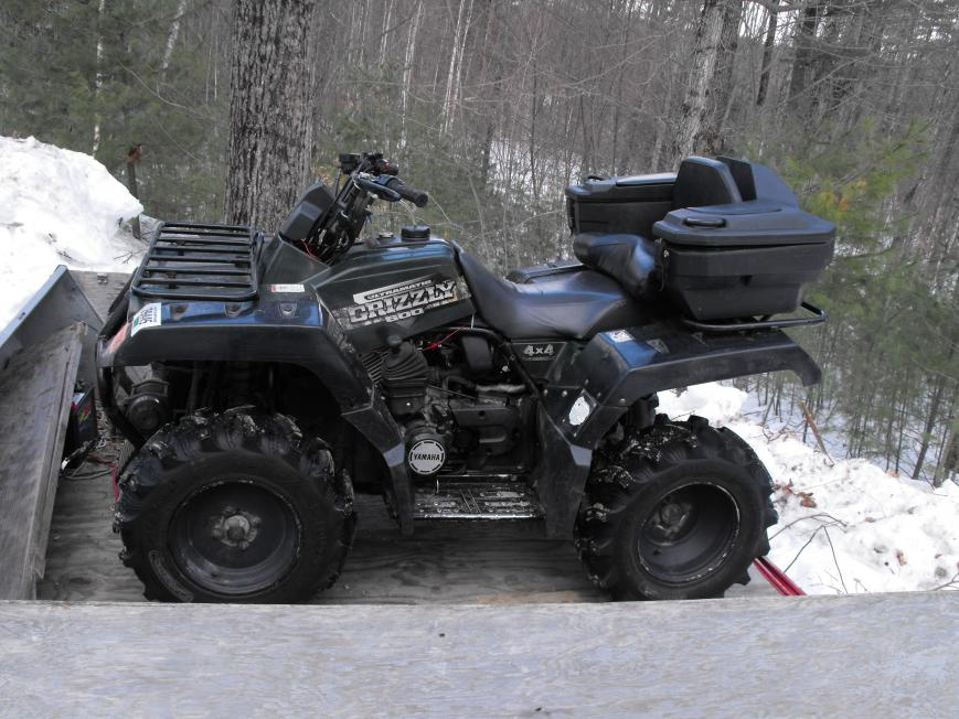 Yamaha Grizzly Ride