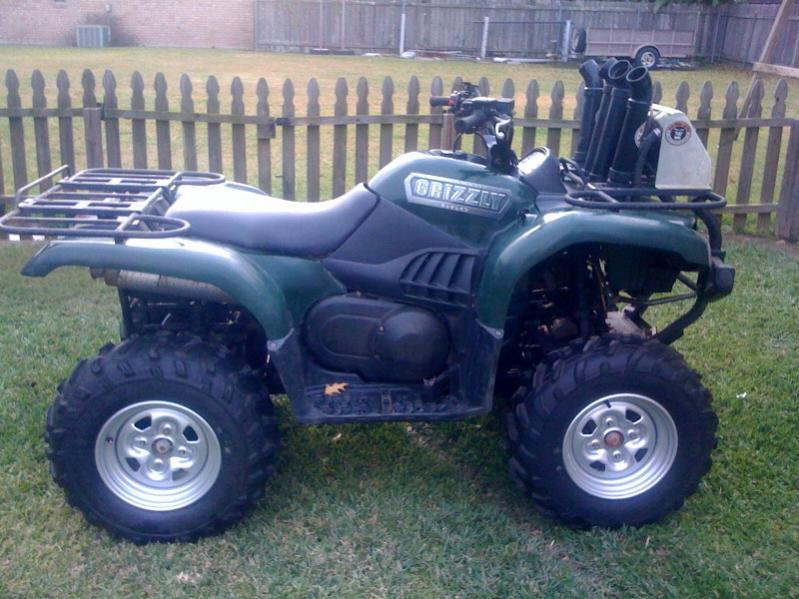 D Grizzly Grizzly on 2008 Yamaha Grizzly 660