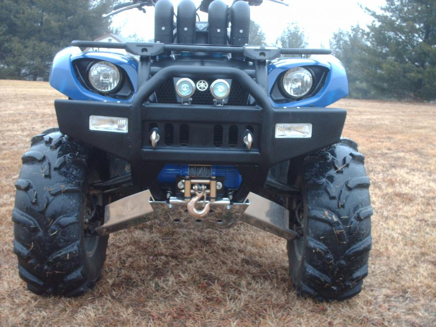 New bumper and tow hooks yamaha grizzly atv forum click image for larger version name hpim0932g views 3834 size 941 sciox Choice Image