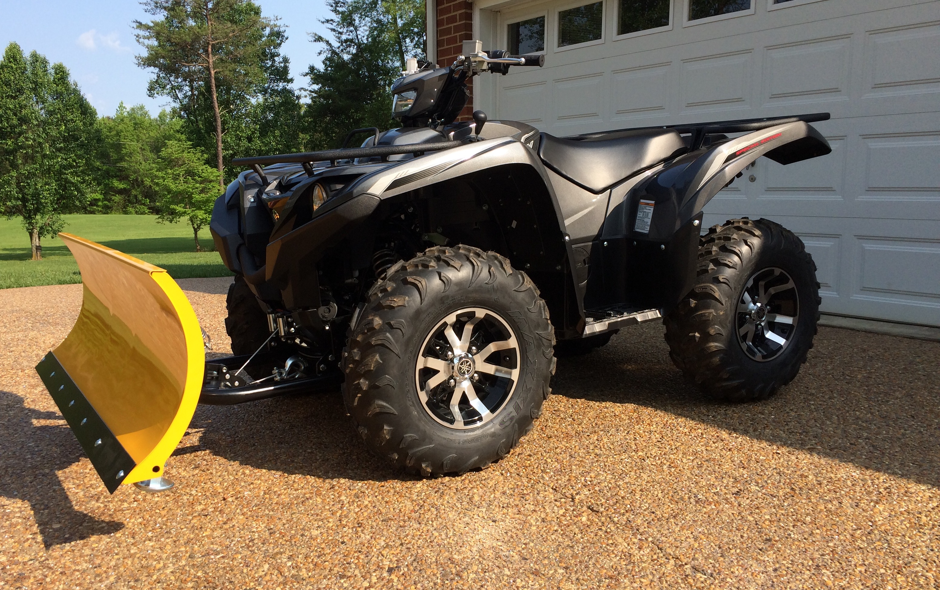 2016 Winch And Plow Set Up