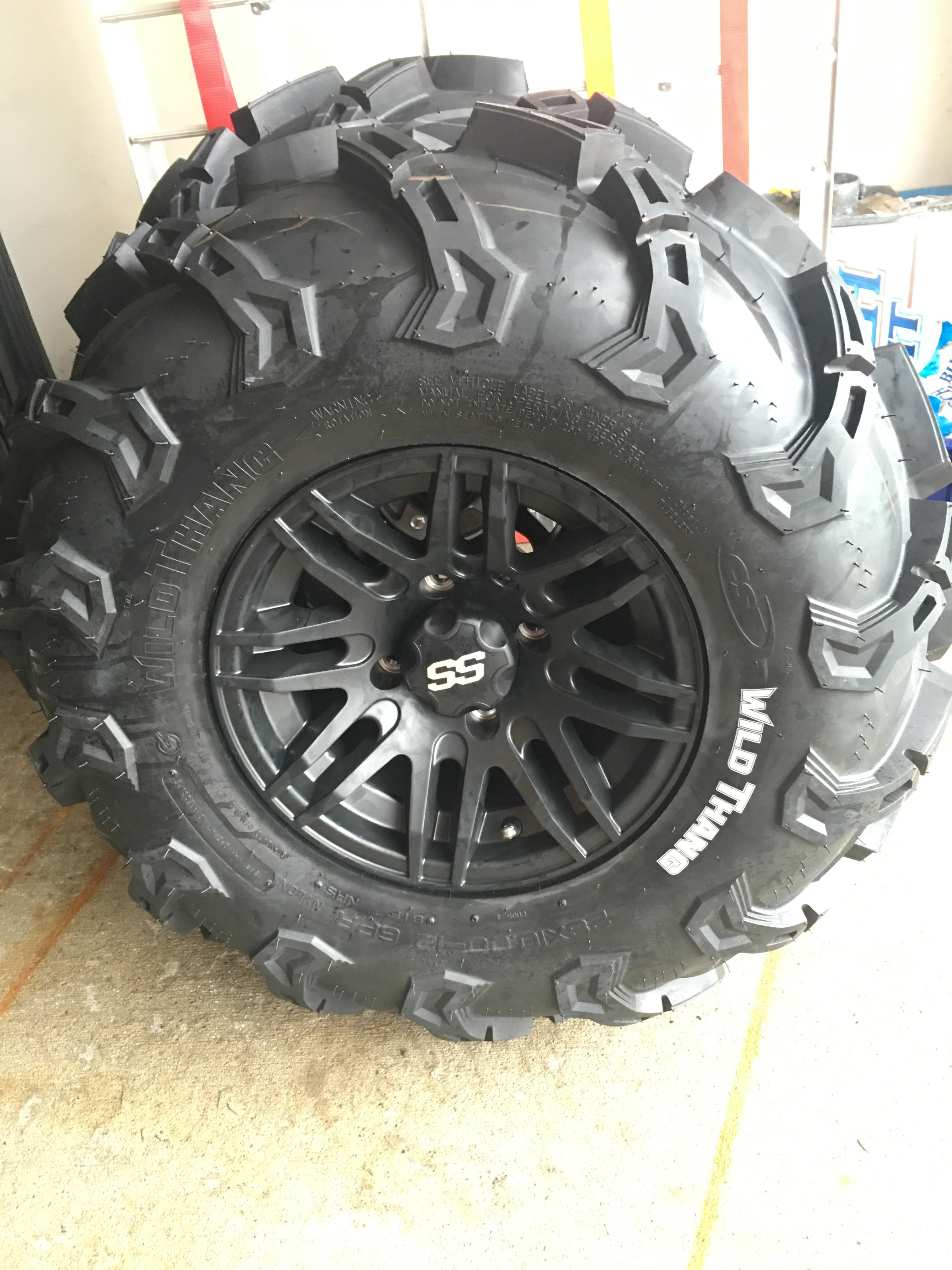 Maxxis Zilla Or Cst Wild Thang Page 2 Yamaha Grizzly