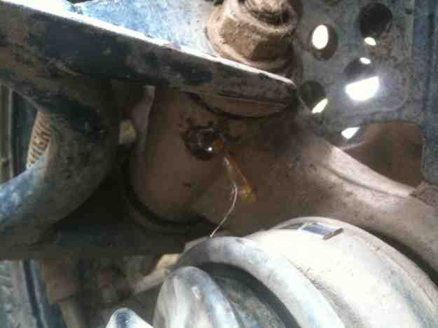 broken off grease nipple yamaha grizzly atv forum