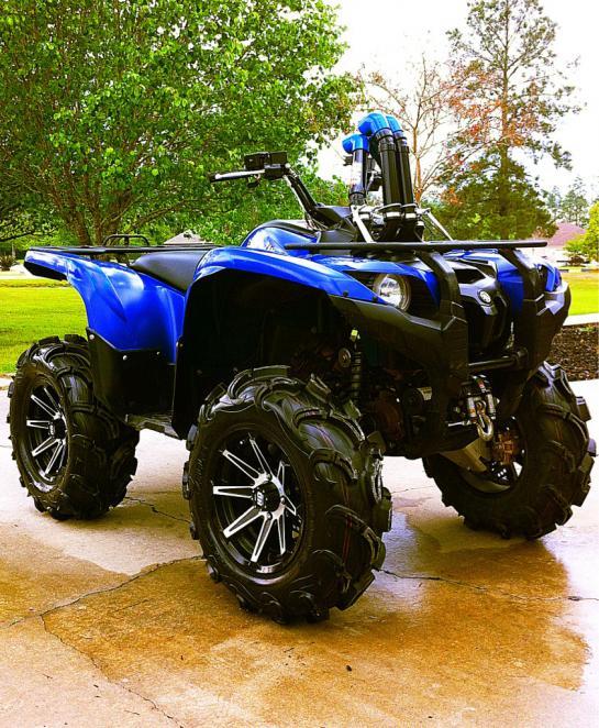 700 custom snorkels - Yamaha Grizzly ATV Forum