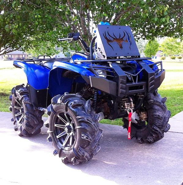 Customization complete! (for now) - Yamaha Grizzly ATV Forum