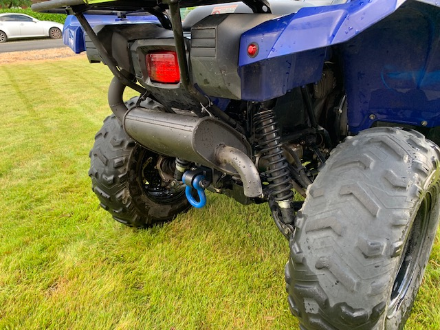 How to quiet my Grizzly down a bit  A Silencer? - Yamaha