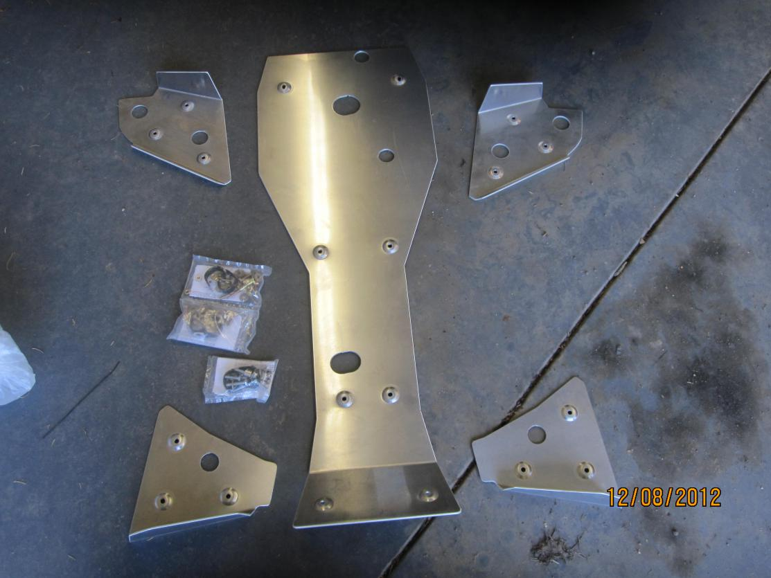 Yamaha 450 Atv >> J and J Grizz/Kodiak 450 Skid Plates - Yamaha Grizzly ATV Forum
