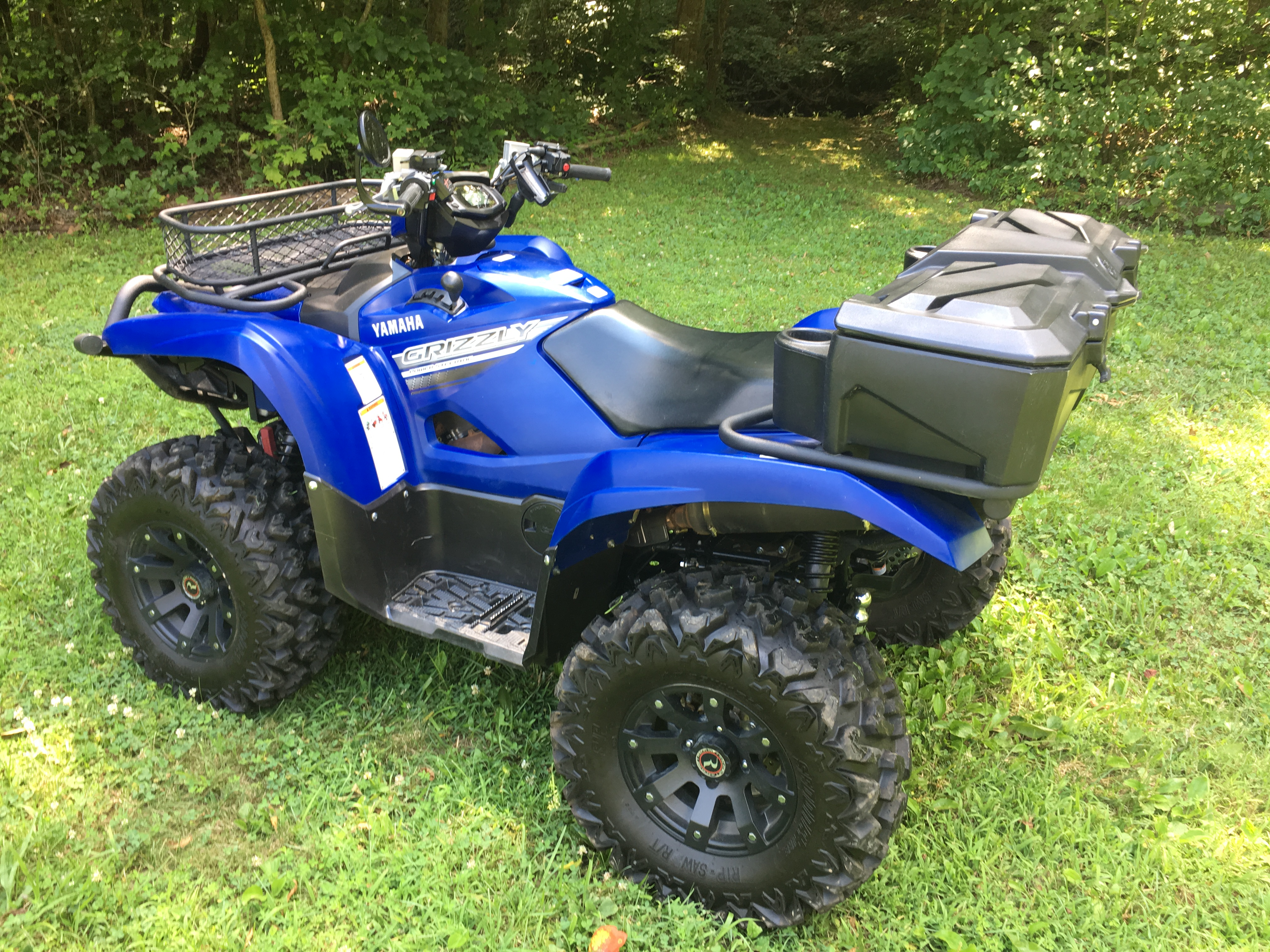 2016 yamaha grizzly 700 eps yamaha grizzly atv forum. Black Bedroom Furniture Sets. Home Design Ideas