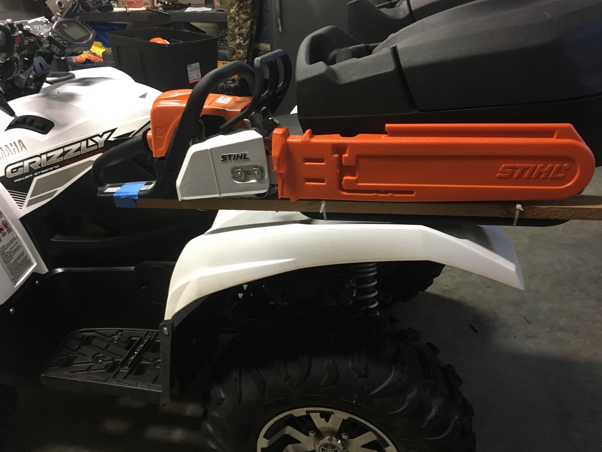 Rack Accessories Yamaha Grizzly Atv Forum