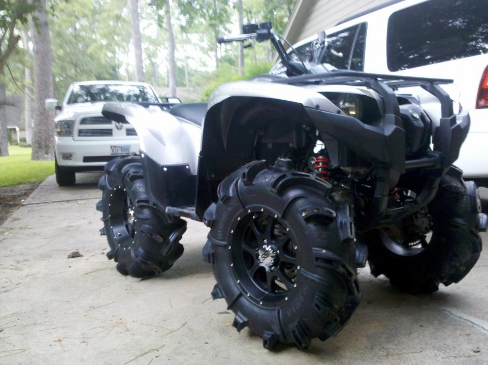 Yamaha Grizzly 660 >> 2011 700se on 30in backs and 2in lift - Yamaha Grizzly ATV ...
