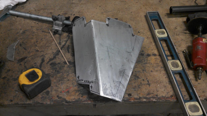 homemade diamond plate cv  a-arm guards